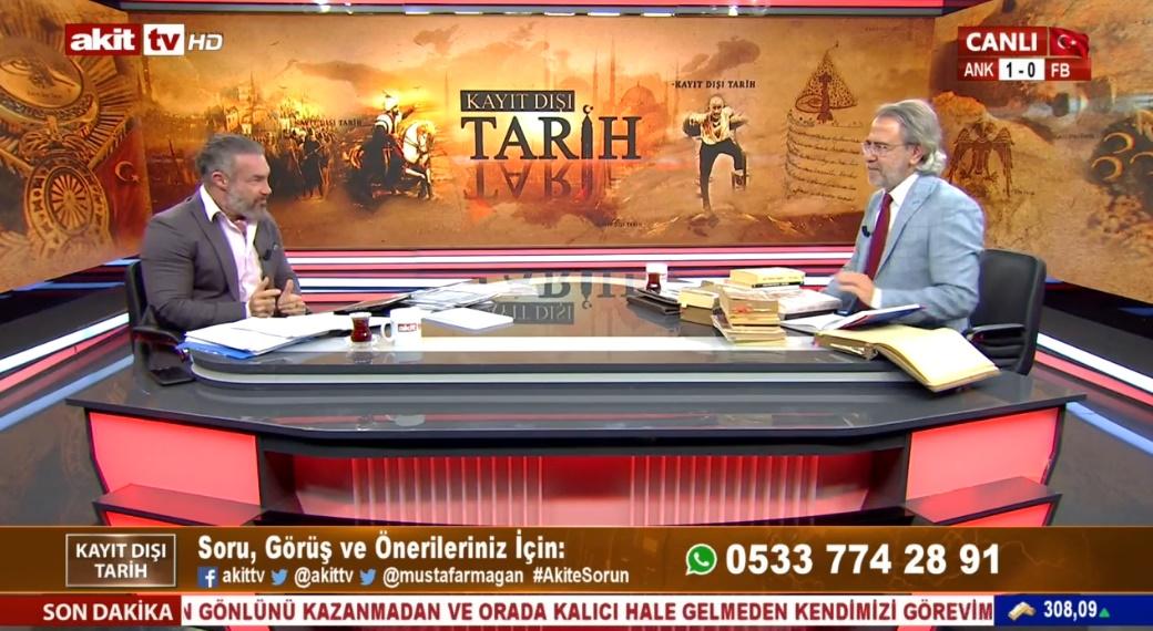 Mustafa Kemal'in eşi Latife Hanımın Yeğeni Akit TV'de